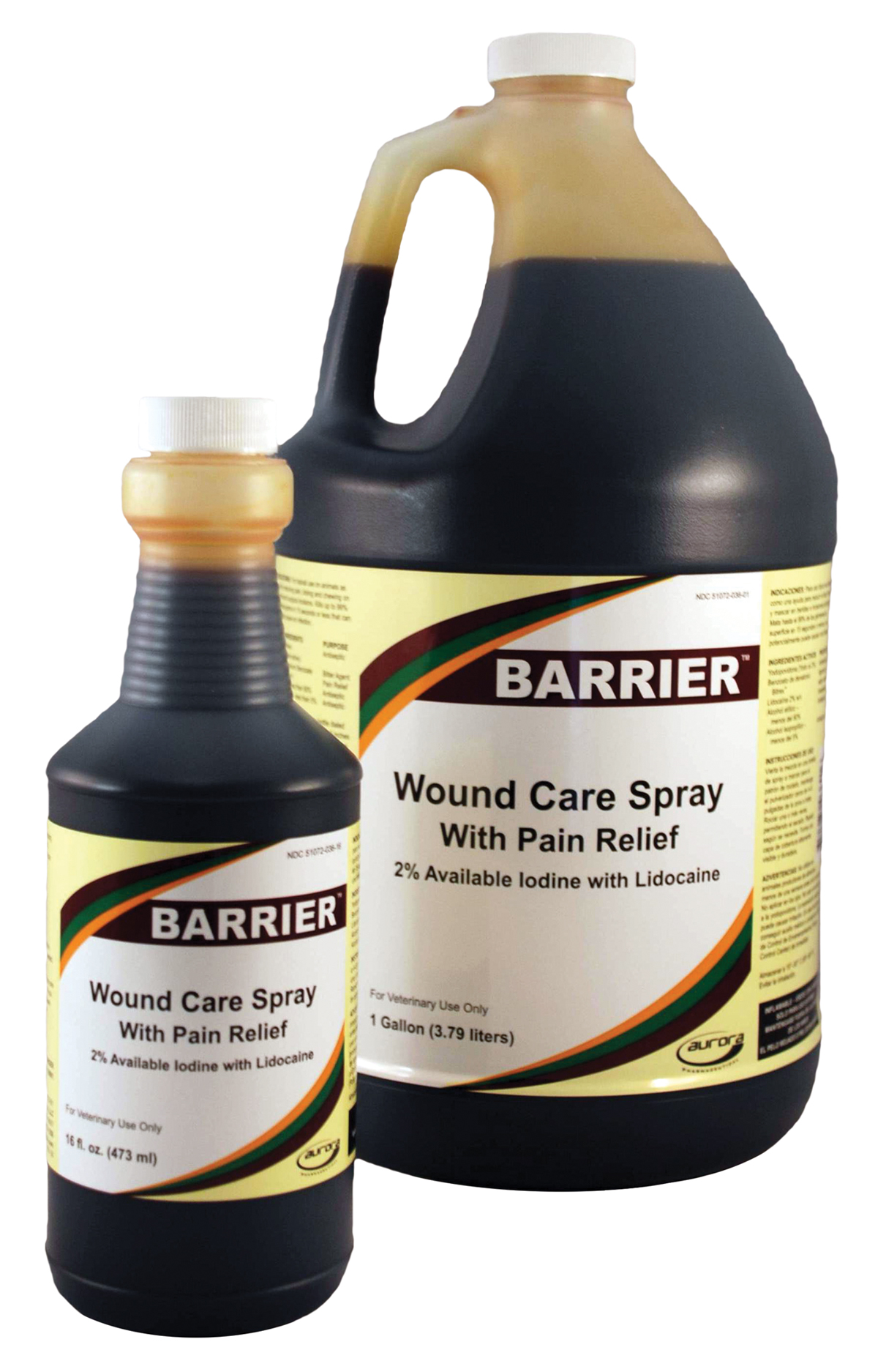BARRIER Wound Care w/ Pain Relief
