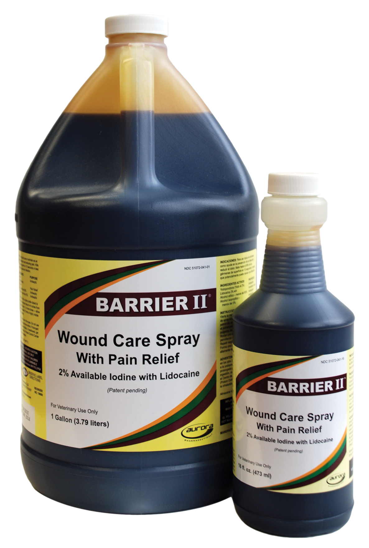 BARRIER II Wound Care w/ Pain Relief