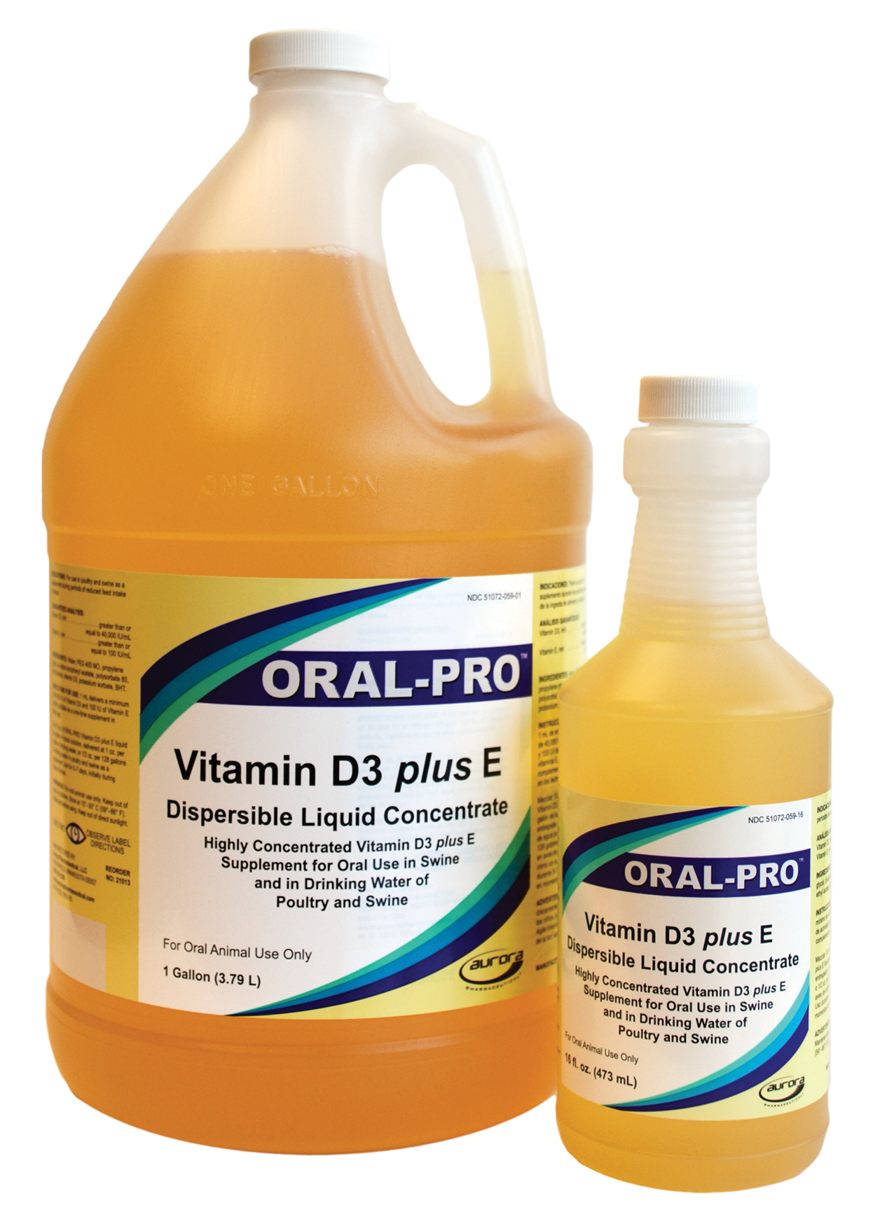 ORAL-PRO Vitamin D3 Plus E