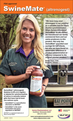 Swine Mate Aurora Pharmaceutical Ad